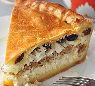 Рецепт Татарский праздничный пирог Губадия
