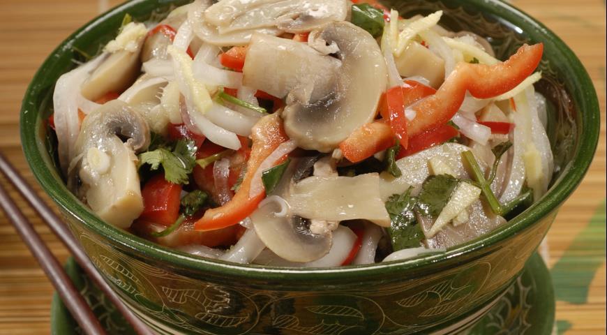 Рецепт Грибы по-корейски