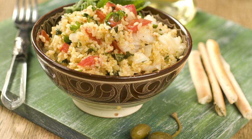 Рецепт Табуле по-ливански