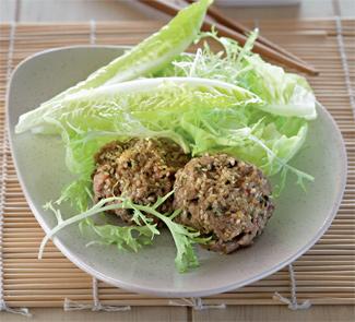 Рецепт Гамбургер в азиатском стиле