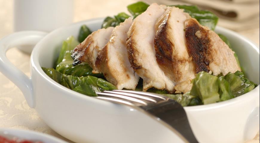 Рецепт Куриное филе в сливовом соусе