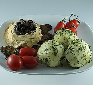 Рецепт Хумус с грибами