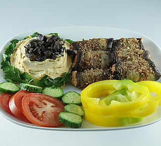Рецепт Хумус с баклажанами
