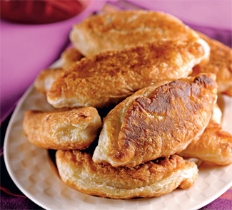 Рецепт Жареные пирожки с груздями