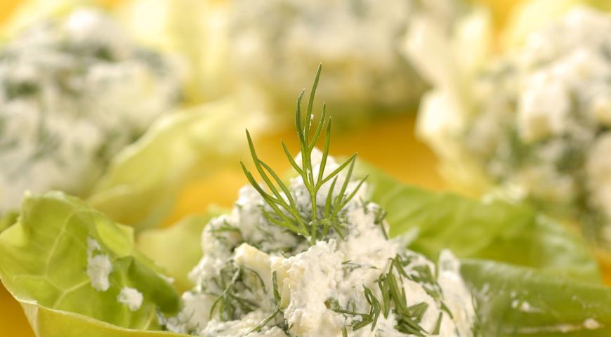 Рецепт Творожно-овощная смесь Снежанка