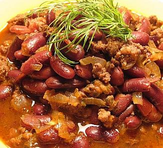Рецепт Второе блюдо Чили кон карне