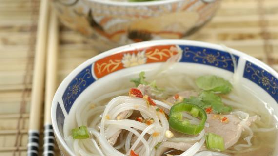 Рецепты с рисовой лапшой с пошаговым