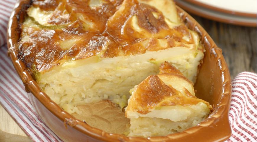 Рецепт Картофельная запеканка с кабачками