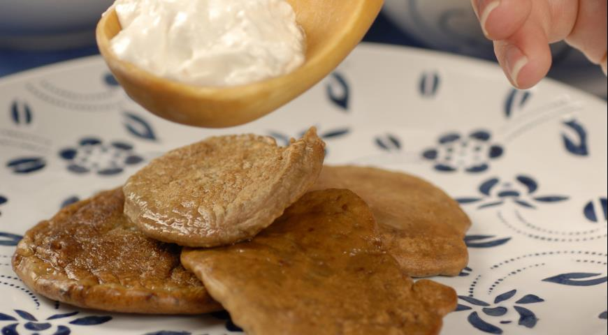 Рецепт Печеночные оладьи