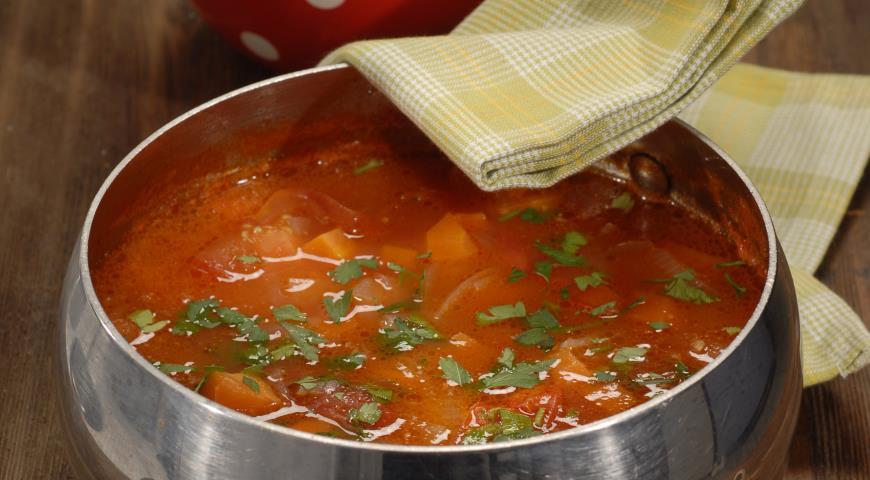 Рецепт Томатный суп с лимоном