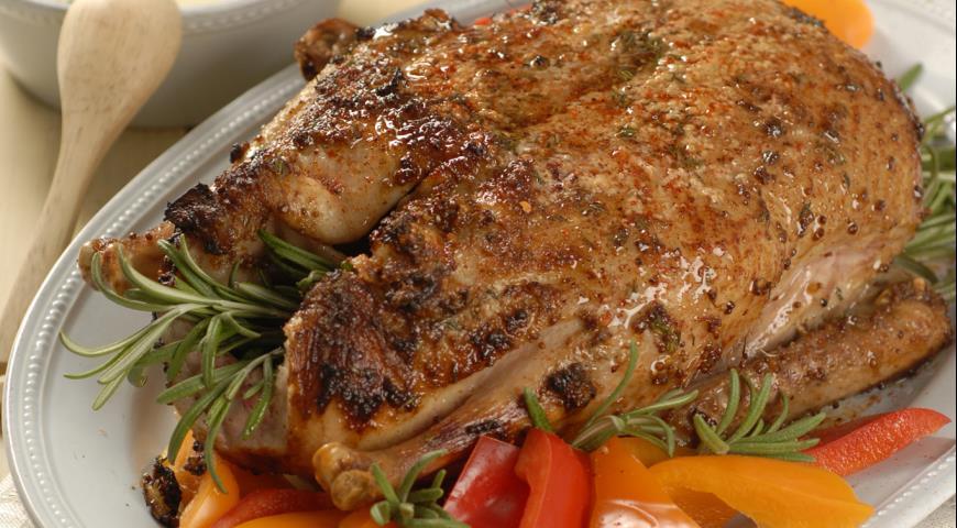 Рецепт Жареная утка с соусом порто