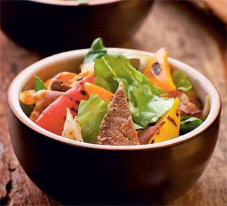 Рецепт Мясной салат лесоруба