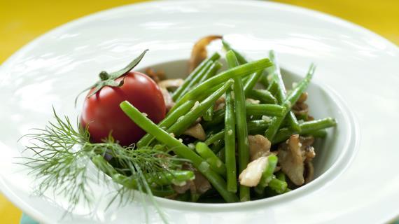 Пошаговый рецепт зеленой фасоли