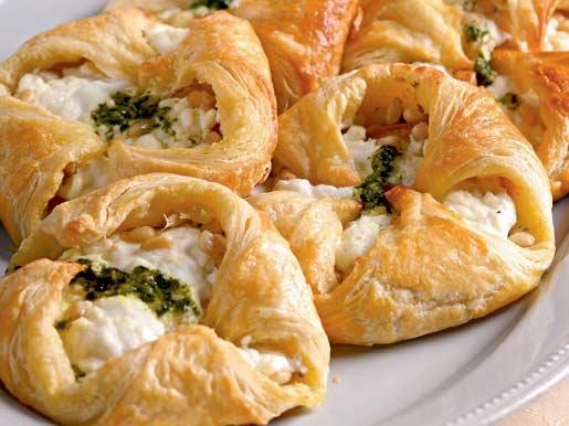 Рецепт Конвертики с козьим сыром