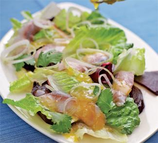 Рецепт Салат из норвежской сельди и свеклы