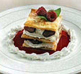 Рецепт Пирожные из слоеного теста