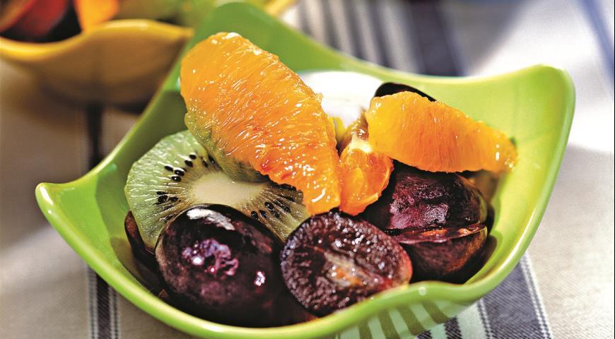 Рецепт Фруктовый салат с киви