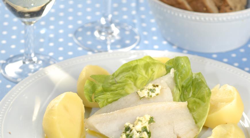Рецепт Рыба под польским соусом