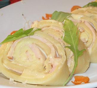 Рецепт Колбаса из картофельного теста