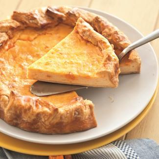 Рецепт Пирог с творогом и цукатами