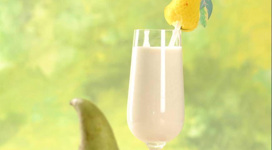 Рецепт Молочный коктейль с грушами
