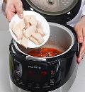 Томатный суп с треской в мультиварке. Шаг 3