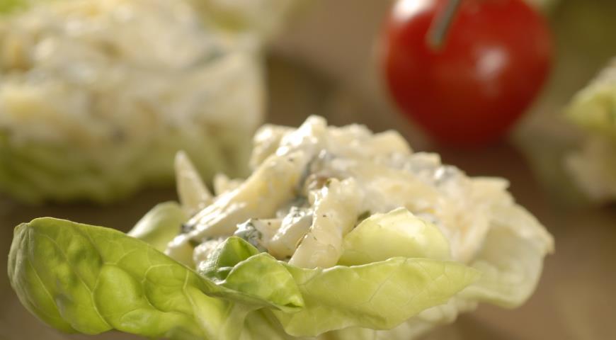 Рецепт Сырная закуска с яблоками