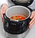 Томатный суп с треской в мультиварке. Шаг 4