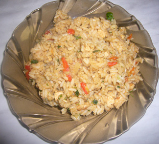 Рецепт Рис по-тайски