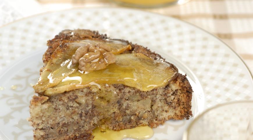 Рецепт Грушевый пирог с шоколадом