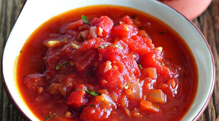 рецепт соуса к шашлыку с томатной пастой и травами