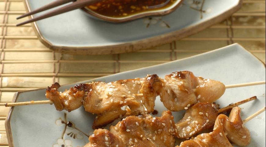 Рецепт Курица якитори