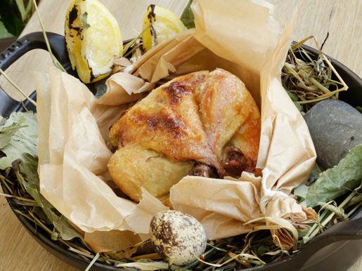 Рецепт Ароматный фермерский цыпленок