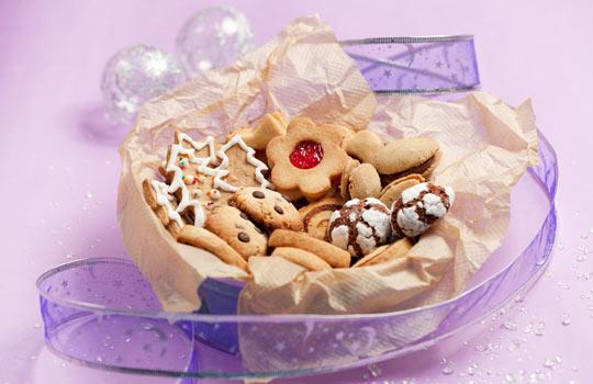 Новогодние подарки из духовки