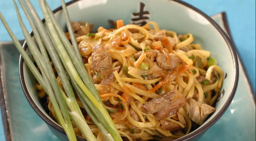 лапша в тайском стиле рецепты