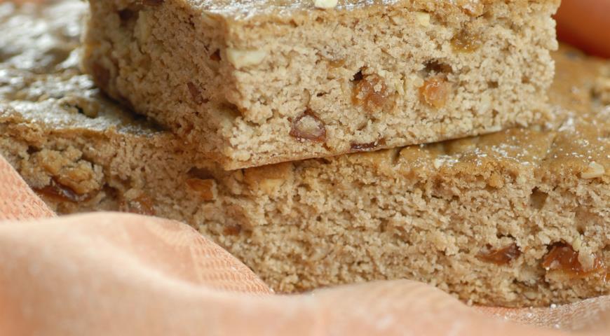 Рецепт Яблочная коврижка по старинному рецепту