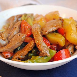 Кусло сладкий стир-фрай с говядиной и овощами, пошаговый рецепт с фото