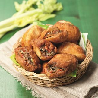 Рецепт Жареные пирожки с сардинами