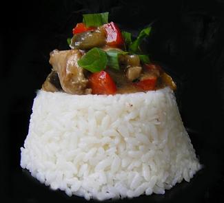 Рецепт Цыпленок с овощами Чи фань