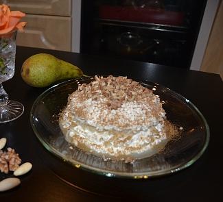 Рецепт Грушево-творожный десерт