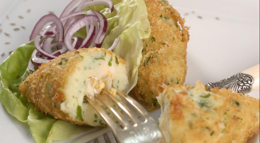 Рецепт Зразы из картофеля с рыбой