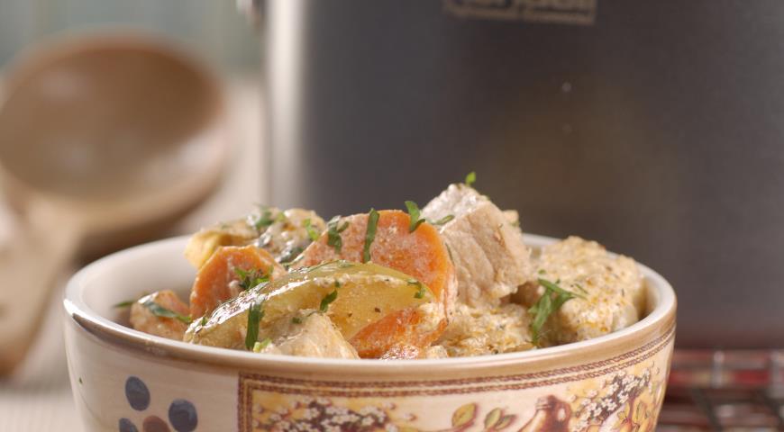 Рецепт Свинина по-норманнски