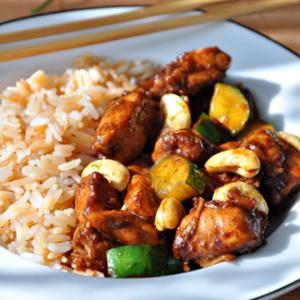 Курочка ГунБао, пошаговый рецепт с фото: http://www.gastronom.ru/recipe/15346/kurochka-gunbao