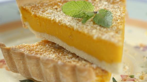 Вкусный тыквенный пирог