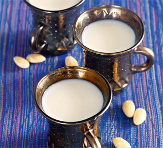 Рецепт Миндальное молоко, магрибская кухня