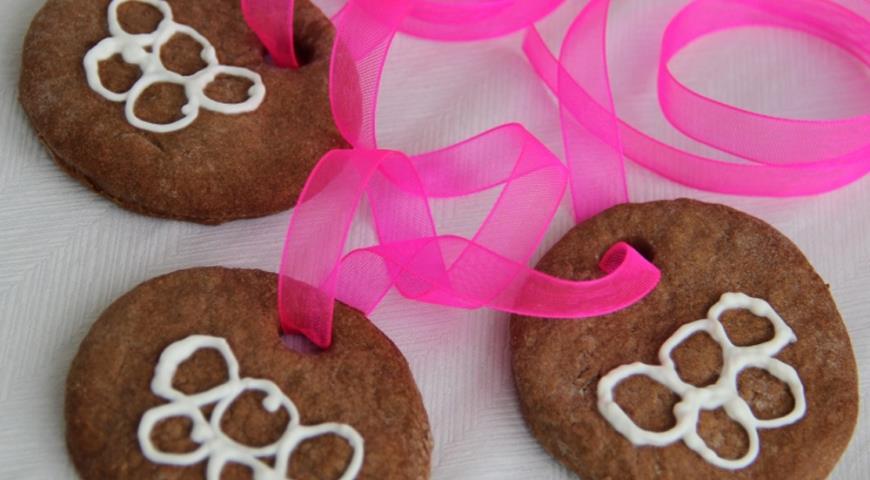 Рецепт Шоколадные пряники Олимпийские медали
