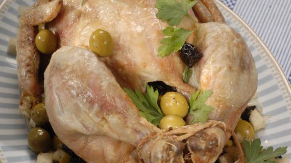 Вкусный рецепт фаршированной курицы фото