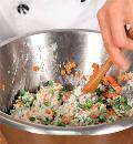 Фото приготовления рецепта: Праздничный рулет из лосося, шаг №2