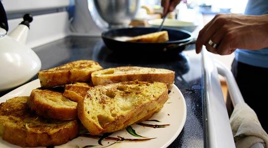 Хранение хлеба, рецепты с хлебом
