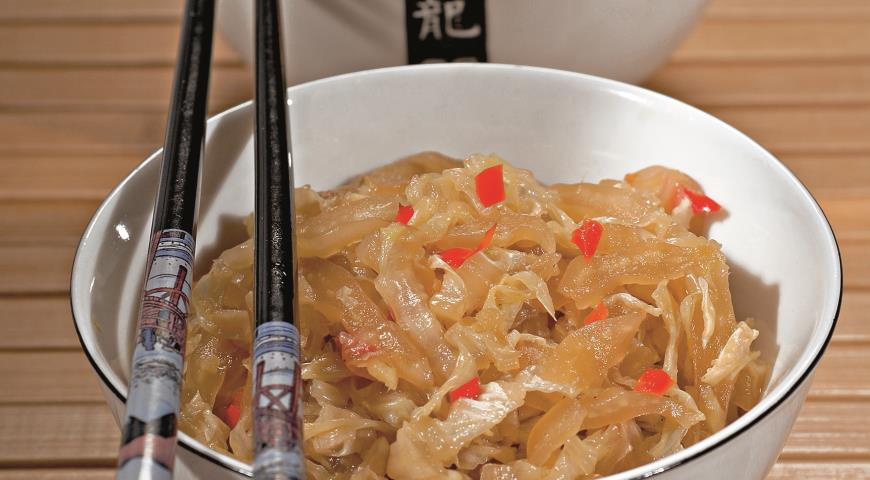 Рецепт Китайская капуста с медом